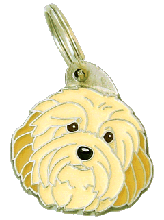 HAVANESE CREAM <br> (pet tag, engraving included)